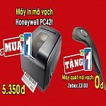 Mua máy in mã vạch Honeywell PC42t  tặng ngay một đầu đọc Zebex Z3100  cơ hội duy nhất trong năm ,mua may in ma vach honeywell pc42t  tang ngay mot dau doc zebex z3100  co hoi duy nhat trong nam