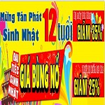 Tháng khuyến mại tại Hà Nội - Tân Phát đại tiệc sinh nhật 12 tuổi,thang khuyen mai tai ha noi  tan phat dai tiec sinh nhat 12 tuoi