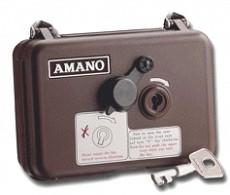 Máy chấm công bảo vệ AMANO PR 600(Giám sát tuần tra bảo vệ)