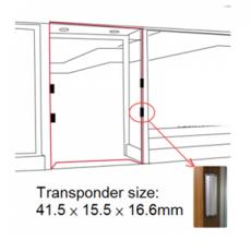 Bộ cổng an ninh - Loại gắn khung cửa Eguard EG-6000C