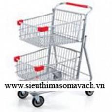 Xe đẩy trong siêu thị ZK-GST-022