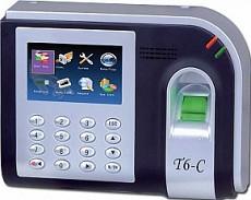 Máy chấm công Vân tay +thẻ cảm ứng +Wifi RonalJack T6C