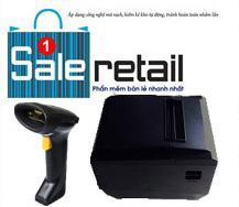 Gói-3a: Bộ sản phẩm bán hàng chuyên dụng cho thời trang gồm Máy in Nexa 085i + Máy quét XL-6200 + phần mềm