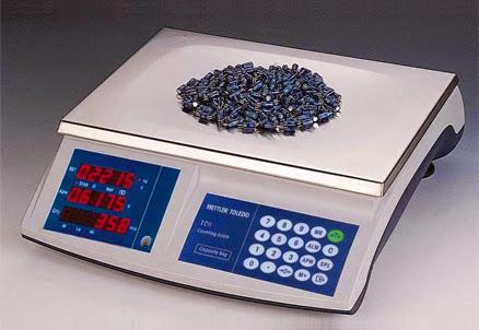 Các loại cân điện tử sử dụng trong sản xuất, kinh doanh