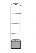 Cổng từ an ninh Eguard  EG - 3300CS Mono