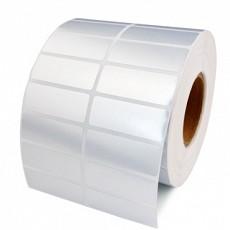 Giấy in mã vạch xi bạc 2 tem 50x70x50m, vuông