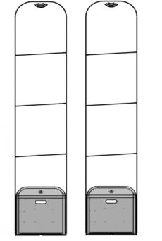 Cổng từ an ninh Eguard  EG - 3300CS