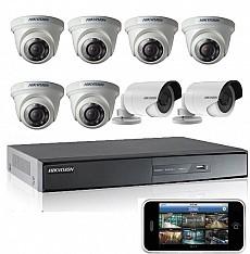 Bộ 8 camera dành cho cửa hàng ( Gói 1F)