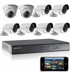 Bộ 8 camera dành cho cửa hàng ( Gói 2F)