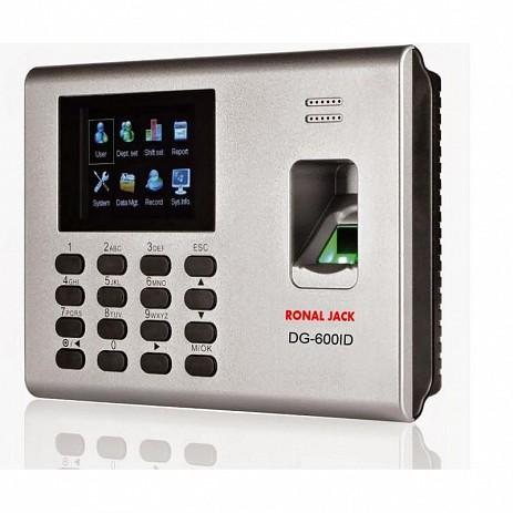 Máy chấm công Ronald Jack DG-600ID BID(vân tay, thẻ từ, pin dự phòng)
