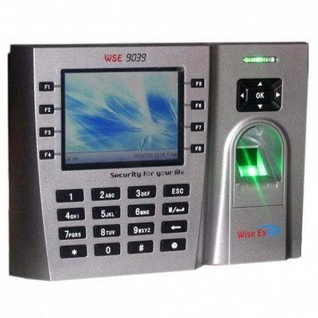 Máy chấm công vân tay, thẻ cảm ứng WISE EYE WSE 9039