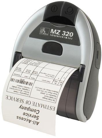 Máy in mã vạch Zebra MZ320